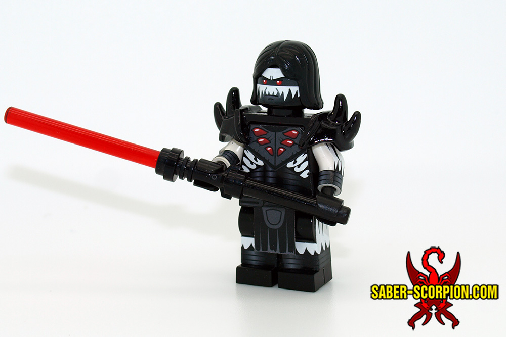 Custom LEGO MOC Gallery – Saber-Scorpion's Lair – Custom LEGO Minifigs, Stickers, & Weapons