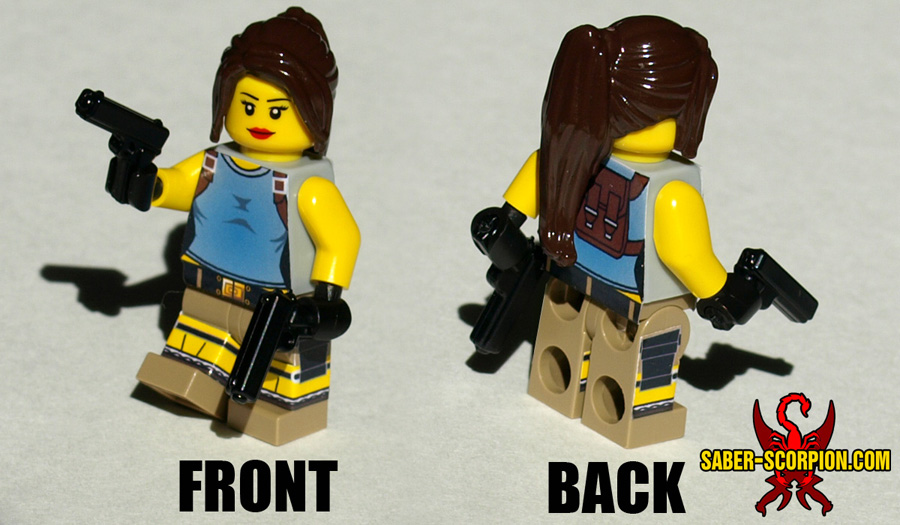 Female Adventurer Minifigure