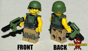Sci-Fi Alien Invasion Marine Minifigure