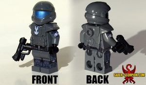 Orbital Drop Trooper Minifigure