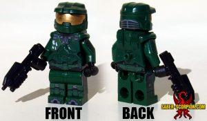 Master Cyborg Chief Minifigure
