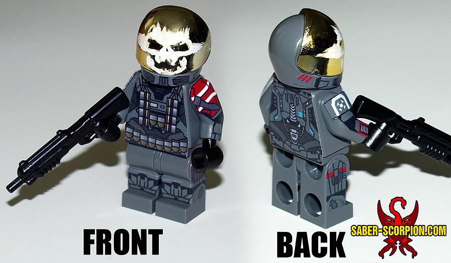 Cyborg Soldier Minifigure