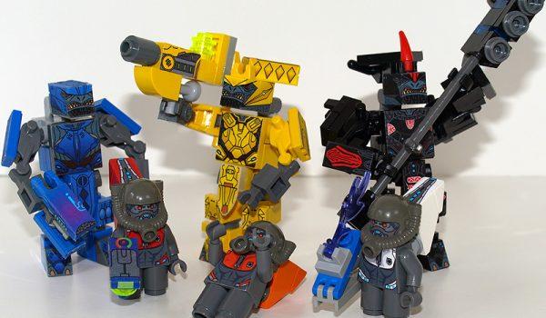 Lego Alien Covenant Minifigures