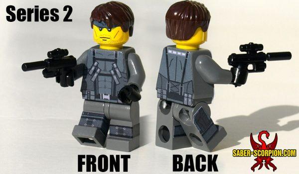 Espionage Action Minifigure