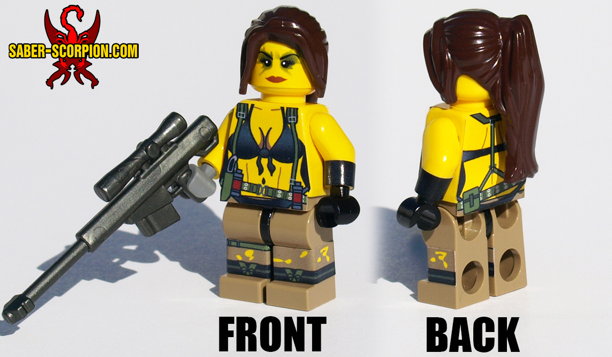 Quiet Sniper Minifigure