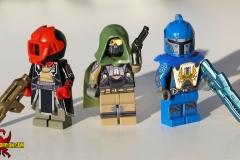 LEGO Destiny: Warlock, Hunter, Titan