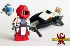 LEGO Destiny: Warlock with Ghost and Sparrow