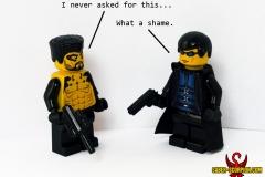 LEGO Deus Ex: Adam Jensen and JC Denton