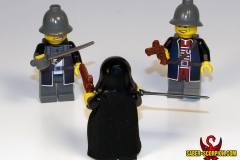 LEGO Dishonored: Corvo Attano vs. guards