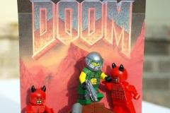 LEGO DOOM: Box Art Classic