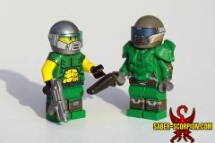 LEGO DOOM: Classic and Modern Doomguy