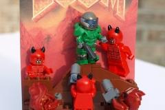 LEGO DOOM: Box Art Modern