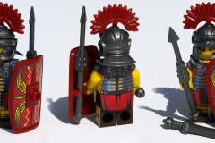 Roman Legionary Steel and Red