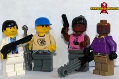 Left 4 Dead 2 LEGO minifigs