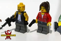 Left 4 Dead LEGO minifigs