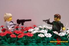 The Boss vs. Naked Snake