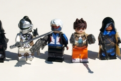 LEGO Overwatch: Reaper, Genji, Soldier:76, Tracer, Ana, and D.Va
