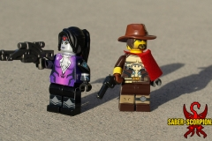 LEGO Overwatch: Widowmaker and McCree