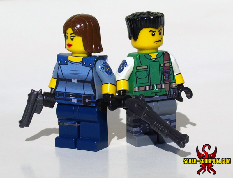 Resident Evil: Jill Valentine and Chris Redfield