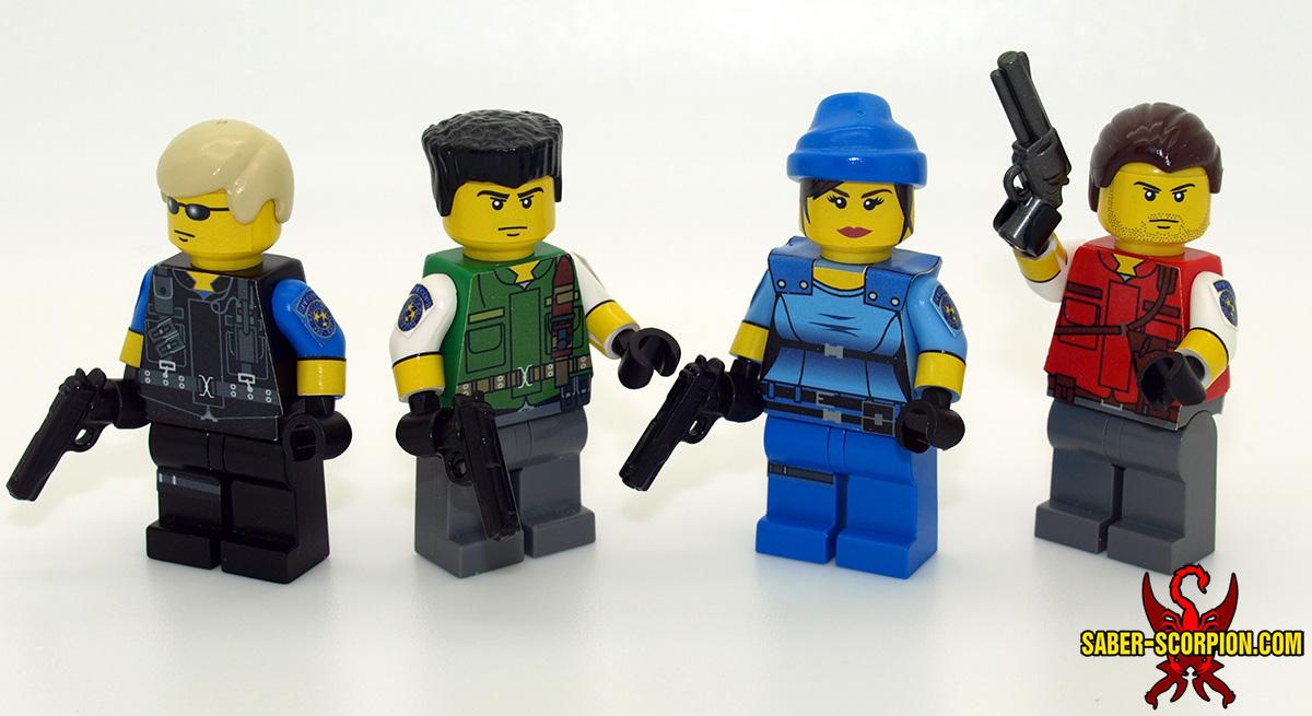 Resident Evil 1 STARS Team