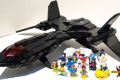 LEGO X-Men Blackbird X-Jet