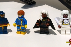 LEGO X-Men: Cyclops and Storm Comparison