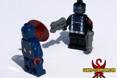 Captain America vs. Hydra Soldier