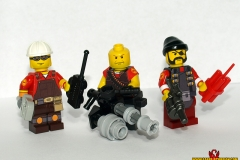 TF2 Engineer, Heavy Weapons Guy, and Demoman