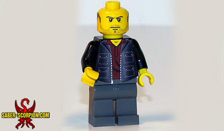 Uncharted Fortune Hunter Minifigure