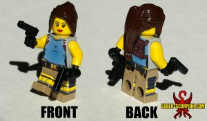 Minifigure: Female Adventurer Classic