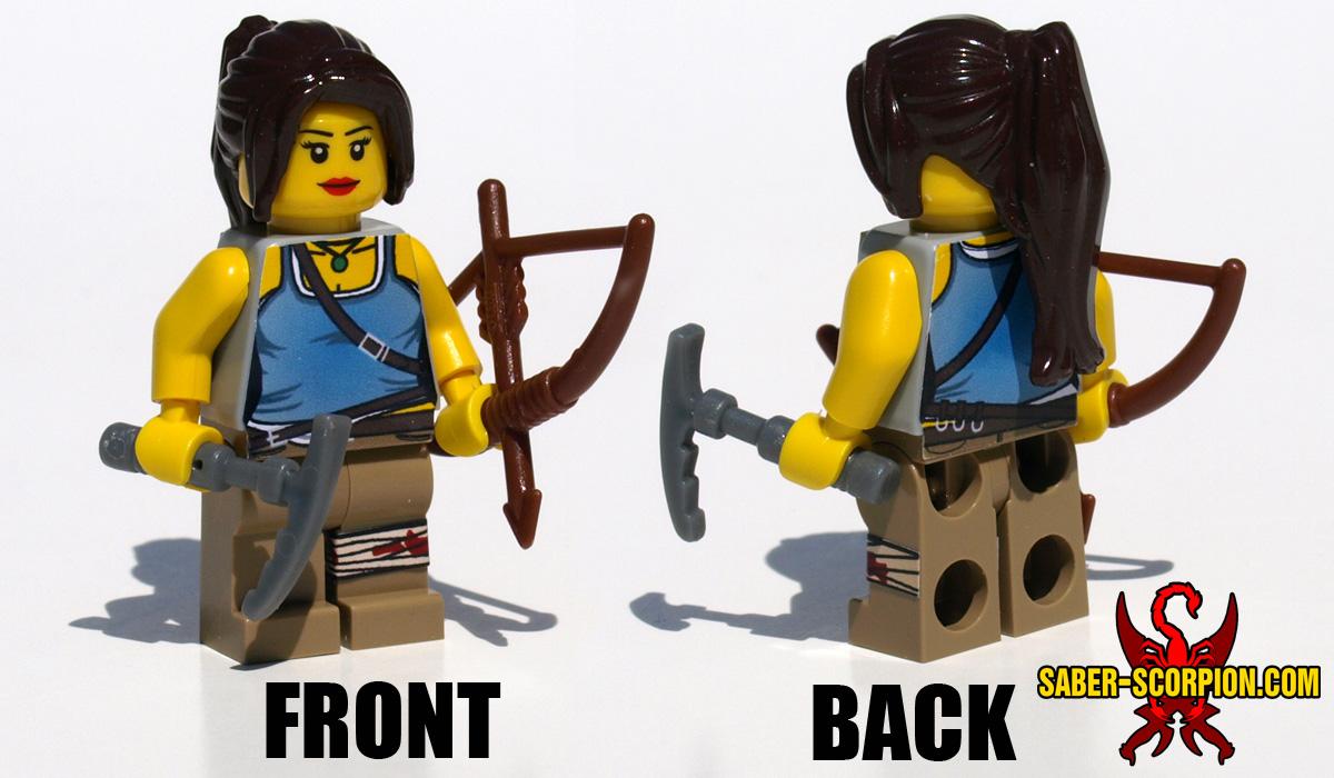 Minifigure: Female Adventurer Bow & Arrow