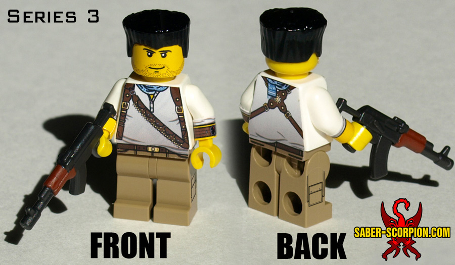 Minifig: Hunter of Uncharted Fortunes