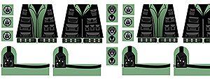 Sci-Fi Minifigure Decals