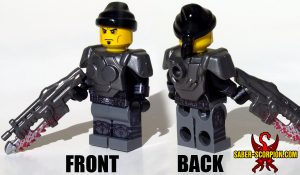 Minifigure of Sci-Fi War Gears