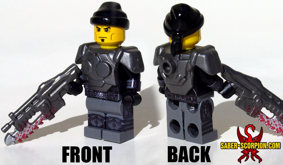 Minifigure of Sci-Fi War Gears