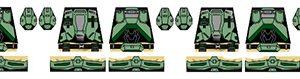 Sci-Fi Minifigure Stickers