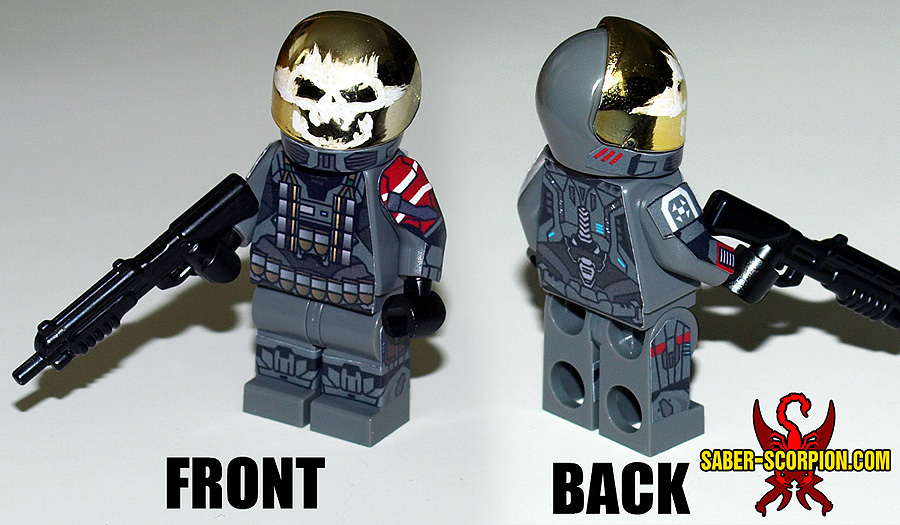 Cyborg Soldier Minifigure
