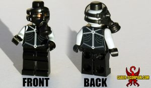 Custom LEGO Minifigure: Espionage Psycho