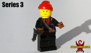 Espionage Action Minifigure