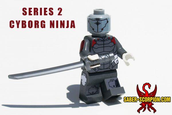 Series 2 Cyborg Ninja Custom LEGO Minifigure