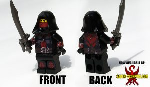 Custom LEGO Minifigure: Fantasy Assassin