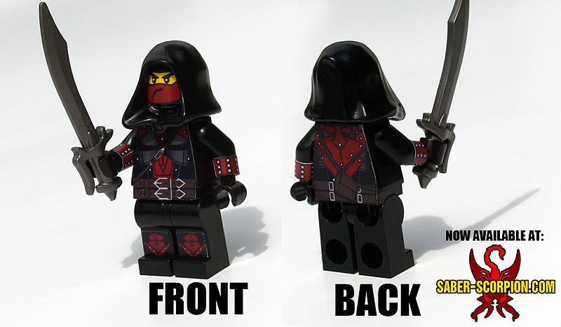 Custom LEGO Minifigure: Fantasy Assassin