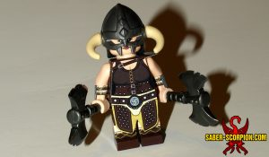 Fantasy Dragonborn Hero Minifigure