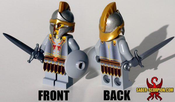 Custom LEGO Minifigure: Fantasy Guard Captain
