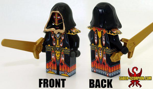 Custom LEGO Minifigure: Fantasy Paladin of Judgment