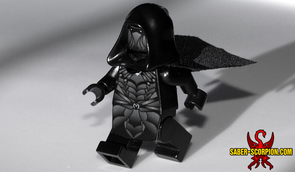 Custom LEGO Minifigure: Fantasy Master Thief