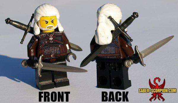 Custom LEGO Minifigure: Fantasy Monster Hunter