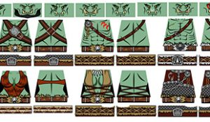Fantasy Orc Horde LEGO Minifig Decals