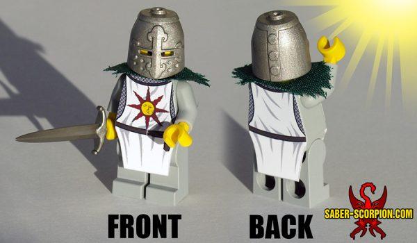 Custom LEGO Minifigure: Solar Knight