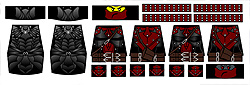 Custom LEGO Minifig Decals: Fantasy Elder Series Assassins